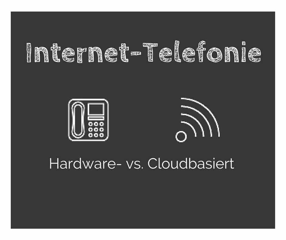 Hardware vs. Cloudbasierte Lösung