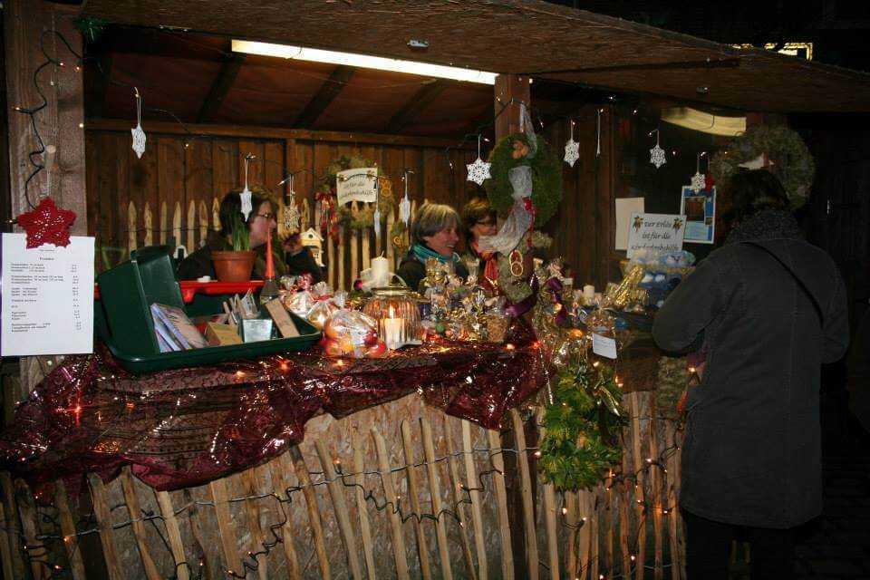 Mehrer Weihnachtsmarkt 2016 Stand