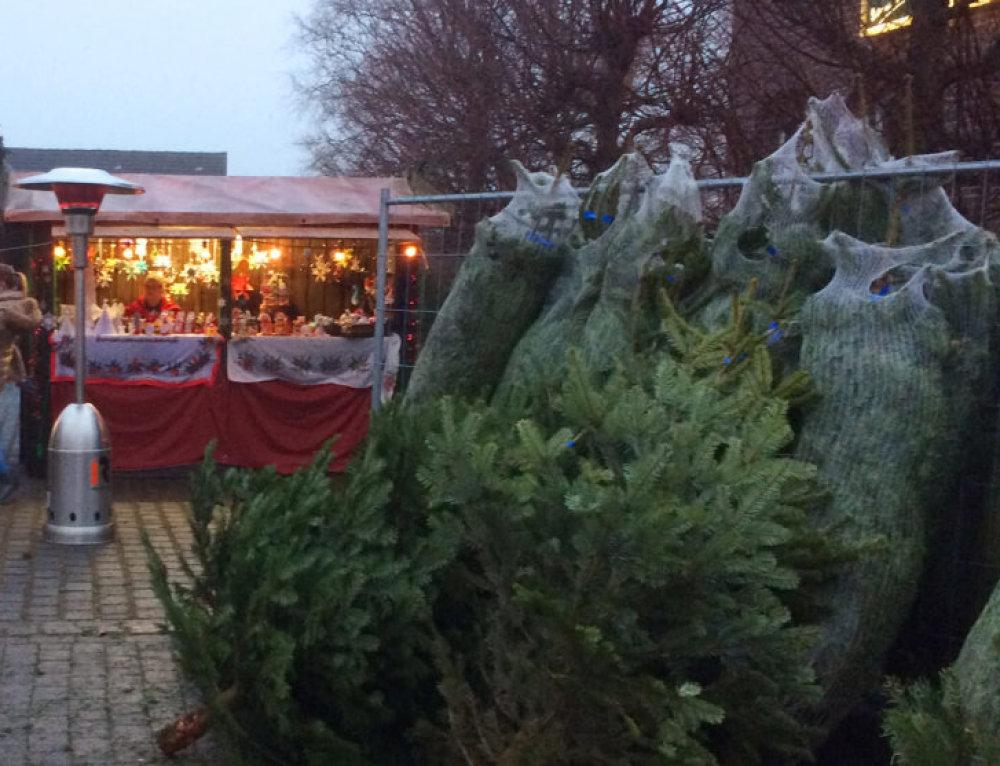 Besinnliche Stunden auf dem Mehrer Weihnachtsmarkt
