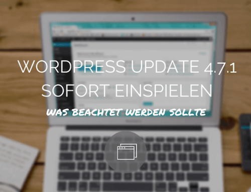 Risikostufe hoch – WordPress Update sofort einspielen