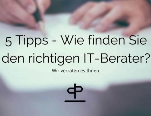 5 Zeichen für einen guten IT-Dienstleister