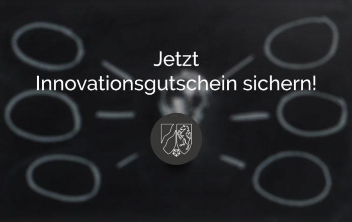 Jetzt Innovationsgutschein sichern