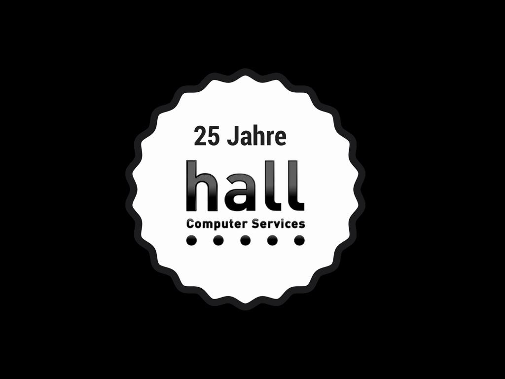25 Jahre IT Dienstleister hall Computer Services