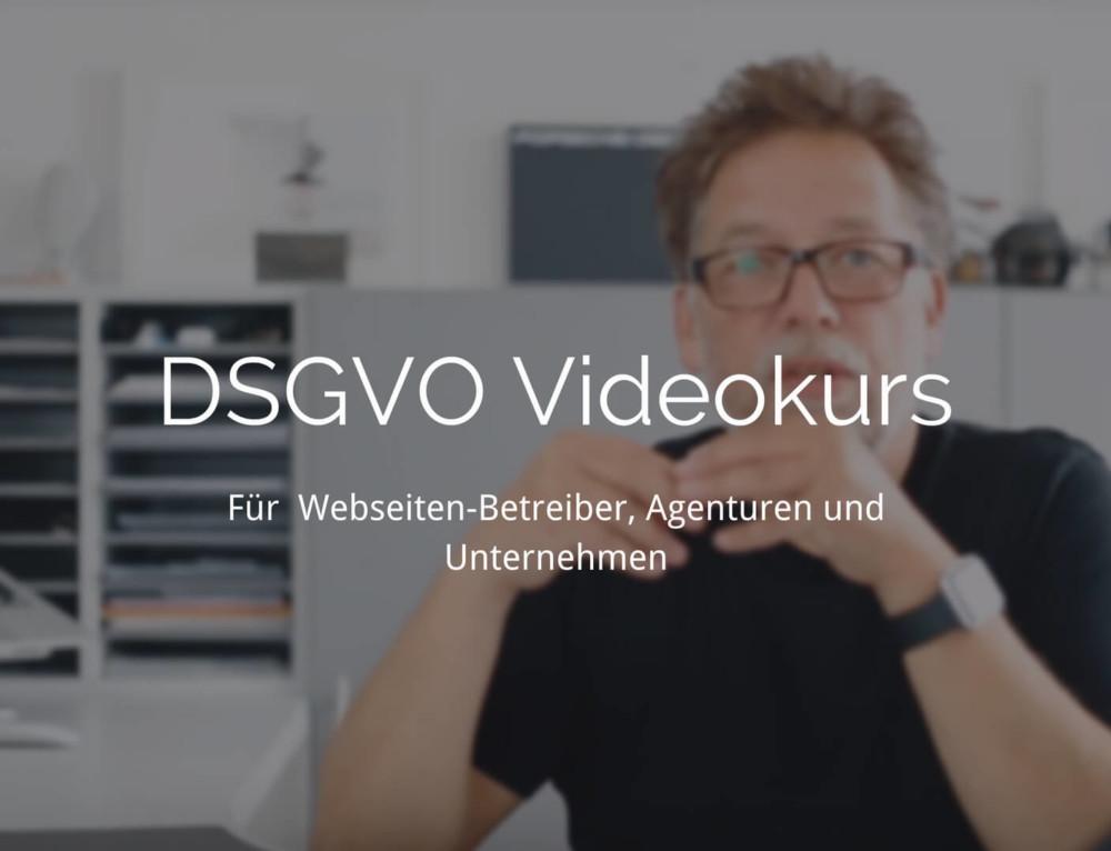 Er ist live: DSGVO Videokurs für Agenturen
