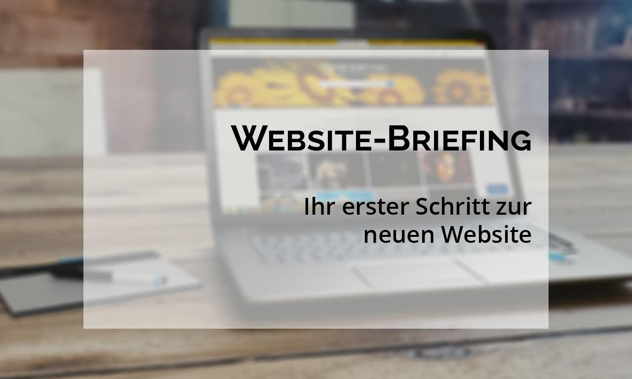 Website Briefing Ihr Erster Schritt Zu Einer Neuen Website Hall