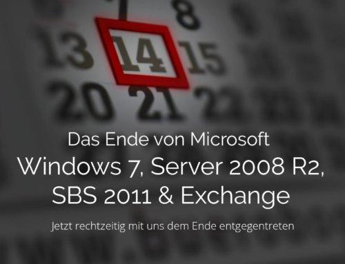 Das Ende von Microsoft – Jetzt rechtzeitig mit uns dem Ende entgegentreten