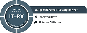 Ausgezeichneter IT-Lösungspartner laut IT-RX