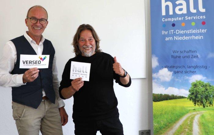 Michael Abele von der Verseo GmbH in Kleve zu Gast bei Michael Hall