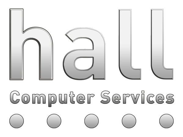 hall Computer Services Logo